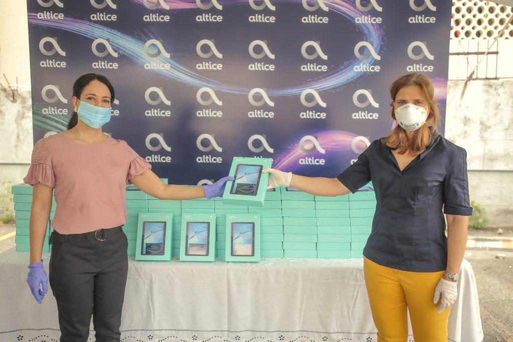 Altice dona 202 tabletas con internet para pacientes con COVID – 19 – Bavarodigital.net
